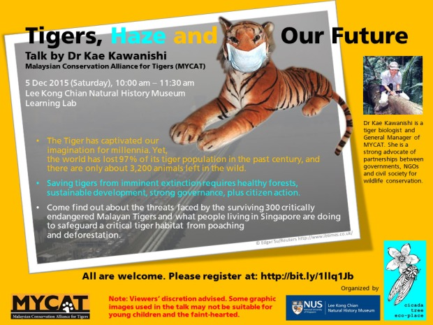 Tigers, Haze and Our Future