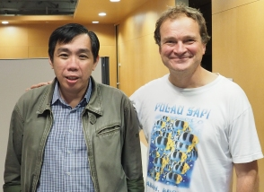Prof Peter Ng with PD Dr. Christoph Scubart